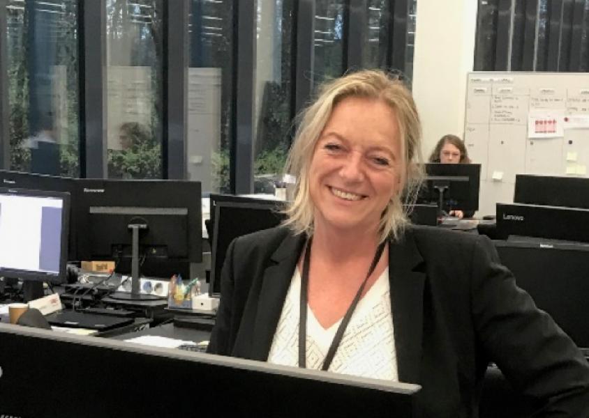 afdelingsleder for COOP Teknologi, Lone Stefansen